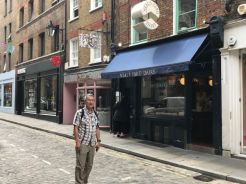 Patrick at Neal's Yard London
